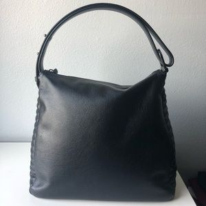 Botkier Black Leather Hobo